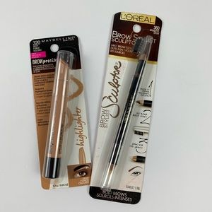 MaybellineEye Brow Highlighter & L'Oreal Sculptor